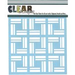 Clear Scraps - Mascils - 12 x 12 Masking Stencil - Mosaic