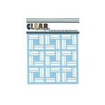 Clear Scraps - Mascils - 6 x 6 Masking Stencil - Mosaic