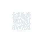 Clear Scraps - Mascils - 6 x 6 Masking Stencil - Numbers
