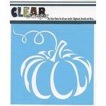 Clear Scraps - Mascils - Halloween - 6 x 6 Masking Stencil - Pumpkin