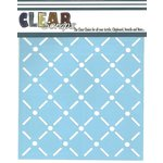 Clear Scraps - Mascils - 12 x 12 Masking Stencil - Quilt