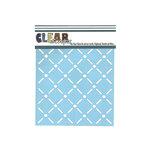 Clear Scraps - Mascils - 6 x 6 Masking Stencil - Quilt