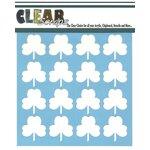Clear Scraps - Mascils - 6 x 6 Masking Stencil - Shamrock