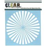 Clear Scraps - Mascils - 12 x 12 Masking Stencil - Spiral