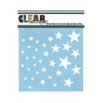 Clear Scraps - Mascils - 6 x 6 Masking Stencil - Stars