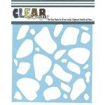 Clear Scraps - Mascils - 12 x 12 Masking Stencil - Stones
