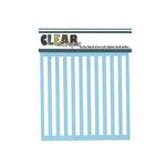 Clear Scraps - Mascils - 6 x 6 Masking Stencil - Stripes