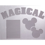 Clear Scraps - 14 x 18 Word Board - Magical