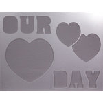 Clear Scraps - 14 x 18 Word Board - Our Day
