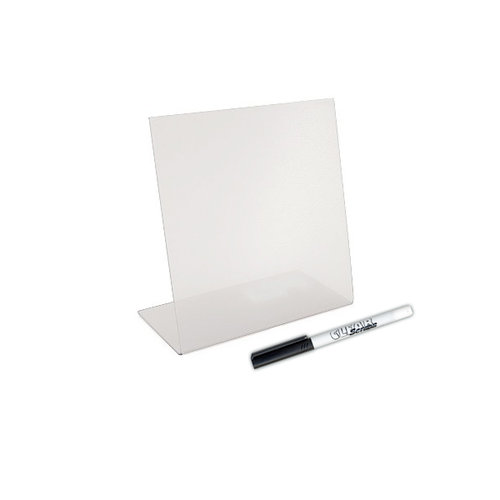 Clear Scraps - 6 x 6 Acrylic Bookstand and Dry Erase Marker Set