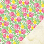 Chickaniddy Crafts - 365 Collection - 12 x 12 Double Sided Paper - Smell The Roses