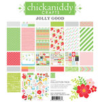 Chickaniddy Crafts - Jolly Good Collection - Christmas - 12 x 12 Collection Pack