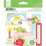 Chickaniddy Crafts - Jolly Good Collection - Christmas - Die Cut Tags