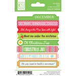 Chickaniddy Crafts - Jolly Good Collection - Christmas - Cardstock Stickers - Mini Tags