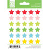 Chickaniddy Crafts - Jolly Good Collection - Christmas - Enamel Stickers - Stars