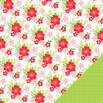 Chickaniddy Crafts - Jolly Good Collection - Christmas - 12 x 12 Double Sided Paper - Christmas Eve