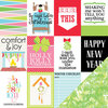 Chickaniddy Crafts - Jolly Good Collection - Christmas - 12 x 12 Double Sided Paper - Holly Jolly