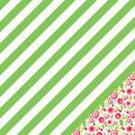 Chickaniddy Crafts - Jolly Good Collection - Christmas - 12 x 12 Double Sided Paper - Deck The Halls