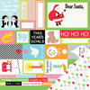 Chickaniddy Crafts - Jolly Good Collection - Christmas - 12 x 12 Double Sided Paper - Tis The Season