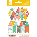 Chickaniddy Crafts - Scrumptious Collection - Cardstock Stickers - Mini Banners