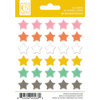 Chickaniddy Crafts - Scrumptious Collection - Enamel Stickers - Stars