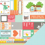 Chickaniddy Crafts - Scrumptious Collection - 12 x 12 Double Sided Paper - Home Sweet Home