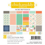 Chickaniddy Crafts - Scrumptious Collection - 6 x 6 Paper Pad