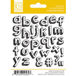 Chickaniddy Crafts - Scrumptious Collection - Clear Acrylic Stamps - Mini Alphabet