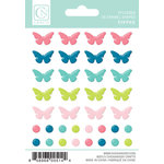Chickaniddy Crafts - Yippee Collection - Enamel Stickers - Shapes