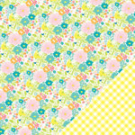 Chickaniddy Crafts - Yippee Collection - 12 x 12 Double Sided Paper - Cheerful