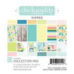Chickaniddy Crafts - Yippee Collection - 6 x 6 Paper Pad
