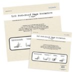 Colorbok - 12 x 12 Postbound Scrapbook Album Refills - 10 Pack