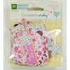 Colorbok - Making Memories - Sarah Jane Collection - Die Cut Cardstock Pieces - Girl