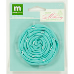 Colorbok - Making Memories - Modern Millinery Collection - Flower Embellishments - Rolled Rose - Teal