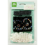 Colorbok - Making Memories - Modern Millinery Collection - Trims - Black and Cream