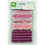 Colorbok - Making Memories - Modern Millinery Collection - Trims - Purple and Pink