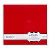 Colorbok - Fabric - 12 x12 - Postbound Scrapbook Albums - Red