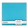 Colorbok - Fabric - 12 x12 - Postbound Scrapbook Albums - Light Teal