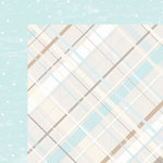 Colorbok - TPC Studio - Woodland Winter Collection - 12 x 12 Double Sided Paper - Flannel