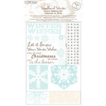 Colorbok - TPC Studio - Woodland Winter Collection - Card Making Kit