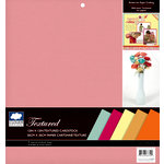 Colorbok - Cloud 9 Design - Fiesta Collection - 12 x 12 Textured Paper Pad - Solid