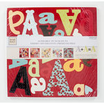 Colorbok - Heidi Grace Designs - Tweet Memories Collection - 12 x 12 Punch Out Pad - Alphabet
