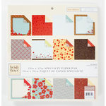 Colorbok - Heidi Grace Designs - Tweet Memories Collection - 12 x 12 Sparkle Paper Pad