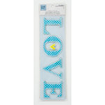Colorbok - Heidi Grace Designs - Daydream Collection - 3 Dimensional Stickers - Fabric Word - Love