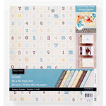 Colorbok - Antique Paperie Collection - 8 x 8 Paper Pad