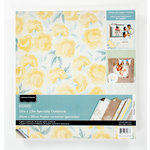 Colorbok - Antique Paperie Collection - 12 x 12 Glitter Paper Pad
