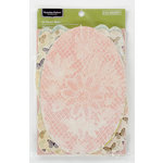 Colorbok - Victorian Parlour Collection - Die Cut Cardstock Pieces - Photo Mats