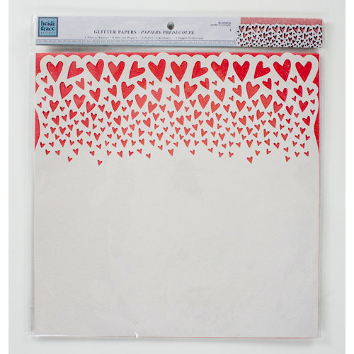 Colorbok - Heidi Grace Designs - Daydream Collection - 12 x 12 Die Cut Glitter Paper Pack