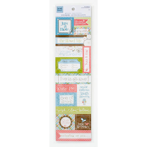 Colorbok - Heidi Grace Designs - Daydream Collection - Glitter Stickers - Words