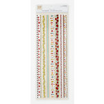 Colorbok - Heidi Grace Designs - Tweet Memories Collection - Fabric Stickers - Border